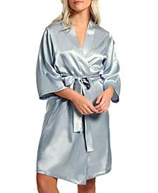 Women's Marina Lux Satin Robe