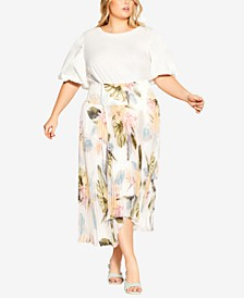 Trendy Plus Size Barbados Skirt