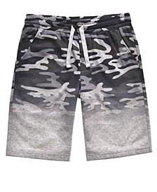 Big Boys Hide Down Camo Knit Shorts