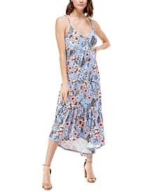 Juniors' High-Low Maxi Dress