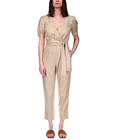 Belted Jumpsuit, Regular & Petite Sizes