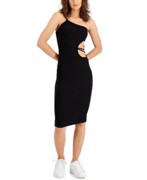 Paradis Cutout One-Shoulder Bodycon Dress
