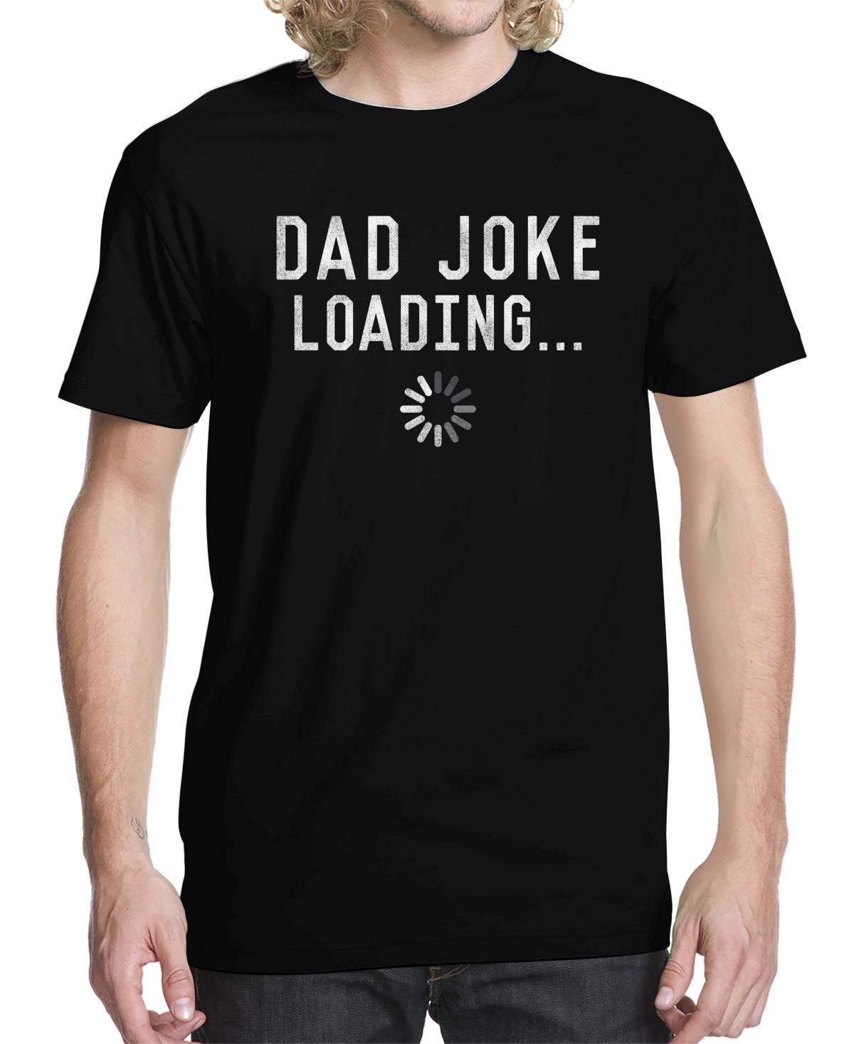 Men's Dad Joke Loading Graphic T-shirt