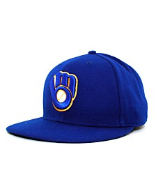 New Era Milwaukee Brewers MLB Authentic Collection 59FIFTY Fitted Cap