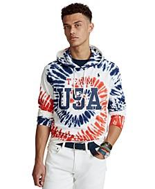 Men's Team USA Tie-Dye Hooded T-Shirt