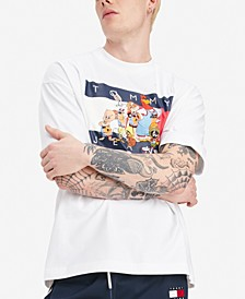 Tommy Hilfiger Men's Space Jam: A New Legacy x Tommy Jeans Tunes Squad Graphic T-Shirt