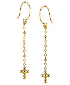 Cross Hook Earring