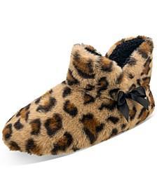 Women's Leopard-Print Clog Slippers