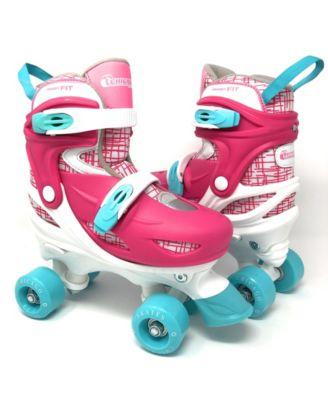 Chicago Girls Adjustable Quad Roller Skate 7pc Set - Size S (J10-J13)