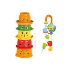 Hey Kiddo Bath Buddies Toy Bundle, Set of 6