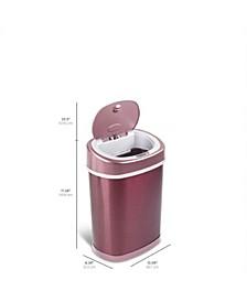 Oval Motion Sensor Trash Can, 3.9 Gallon