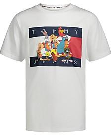 Tommy Hilfiger X Space Jam: New Legacy Big Boys Tune Squad Short Sleeve T-shirt