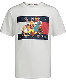 Tommy Hilfiger X Space Jam: New Legacy Little Boys Tune Squad Short Sleeve T-shirt