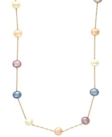 EFFY® Cultured Freshwater Pearl Necklace in 14k Gold (5-1/2mm)