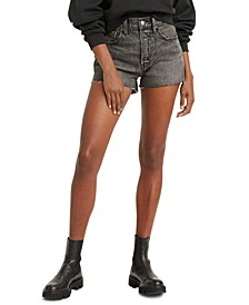 Women's 501 Cotton High-Rise Denim Shorts