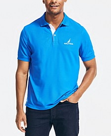 Men's Classic-Fit Solid Navtech Polo Shirt