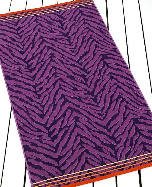 INC International Concepts CLOSEOUT! I.N.C. Tigress Beach Towel