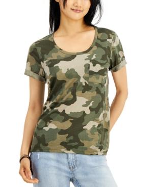 Juniors' Burnout T-Shirt