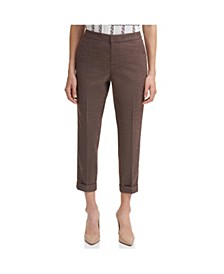 Cuffed Ankle Pants
