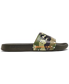 Men's Classic Pool Slide Sandals from Finish Line
