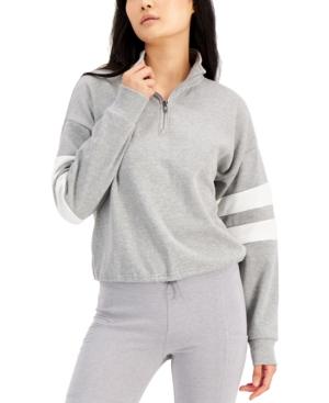 Juniors' Quarter-Zip Varsity Sweatshirt