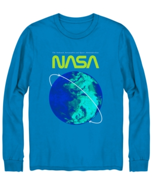 Men's Nasa Long-Sleeve Graphic T-Shirt