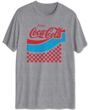 Men's Checkered Coca-Cola T-Shirt
