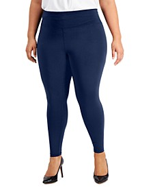 Plus Size Compression Leggings, Created for Macy's