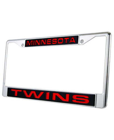 Rico Industries Minnesota Twins Laser License Plate Frame