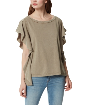 Ophelia Extended Flutter Sleeve Top