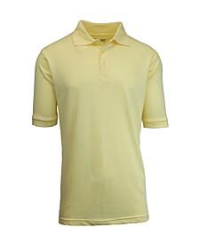 Men's Short Sleeve Pique Polo Shirt