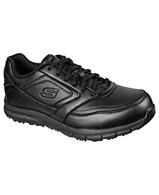Men's Work Relaxed Fit- Nampa Slip Resistant Work Casual Sneakers from Finish Line