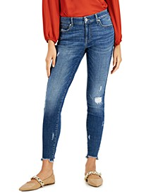 Petite Madison Ripped Skinny Jeans, Created for Macy's