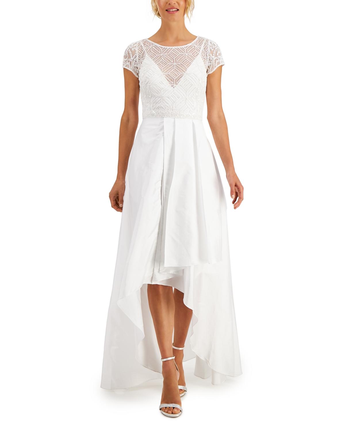 J Kara Embellished High-Low Dress
