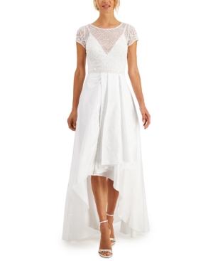 Embellished High-Low Dress