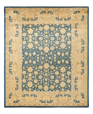 """Adorn Hand Woven Rugs Mogul M1598 8'3"""" X 10'2"""" Area Rug In Cobalt"""