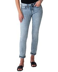 Suki Straight Leg Ankle Jeans