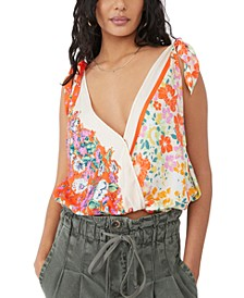 Tied To You Printed Tank Top