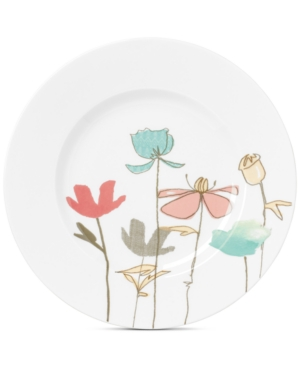 Lenox Poppy Street Linen Accent Plate