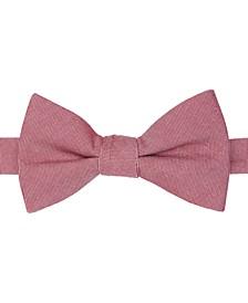 Men's Oxford Micro-Check Pre-Tied Bow Tie