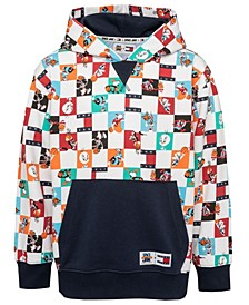 Tommy Hilfiger X Space Jam: New Legacy Big Boys All Over Print Space Jam Pullover Hoodie
