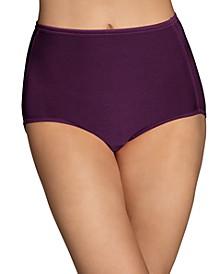 Women's Illumination® Plus Size High-Cut Satin-Trim Brief Underwear 13810