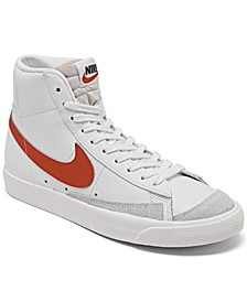 Women's Blazer Mid 77 Casual Sneakers from Finish Line