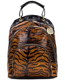 Alencon Leather Backpack