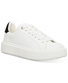 Women's Charlie Treaded Lace-Up Sneakers