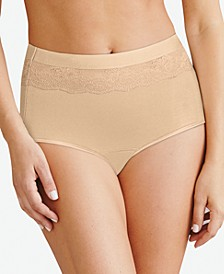 Women's Beautifully Confident Brief With Leak Protection DFLLB1