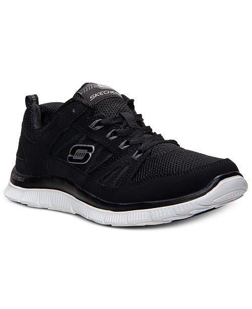 17ec2879eda3 ... Skechers Women s Flex Appeal-Spring Fever Memory Foam Running Sneakers  from Finish ...