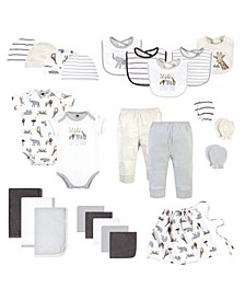 Boys and Girls Layette 25 Piece Baby Shower Gift Set