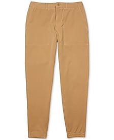 Men's Regular-Fit Stretch Twill Chino Pants