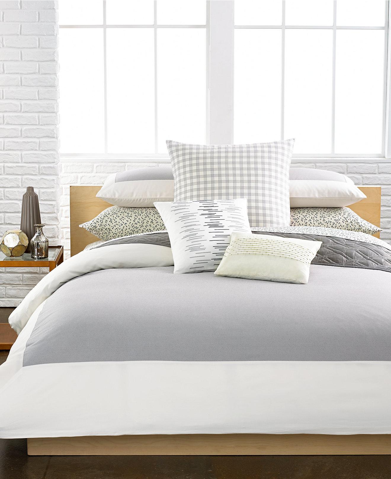 Macy Bedroom Furniture Closeout Closeout Calvin Klein Camden Bedding Collection Bedding